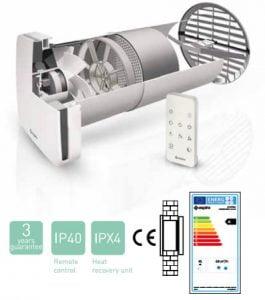 aspira ventilatie cu recuperare caldura