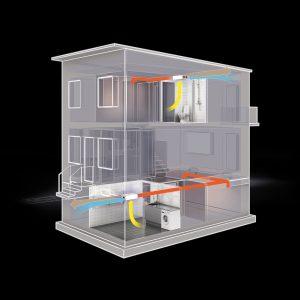 sisteme ventilatie cu recuperator de caldura